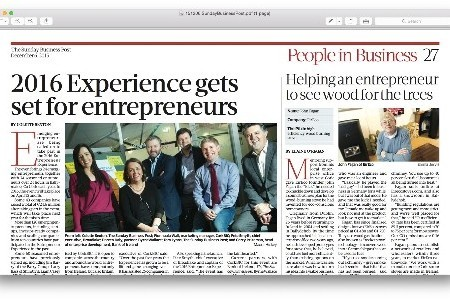 2016 Experience gets set for Entrepreneurs