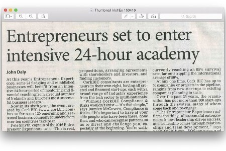 Entrepreneurs set to enter intensive 24-hour academy