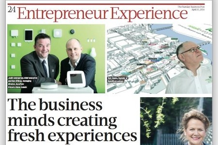 The Business Minds creating fresh Experiences Pg1