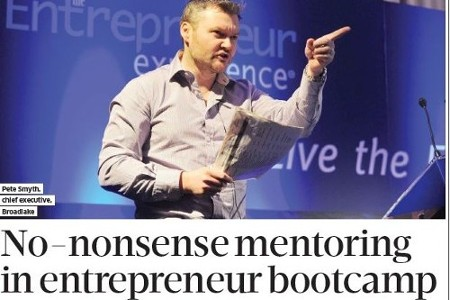 No Nonsense Mentoring in Entrepreneur Bootcamp